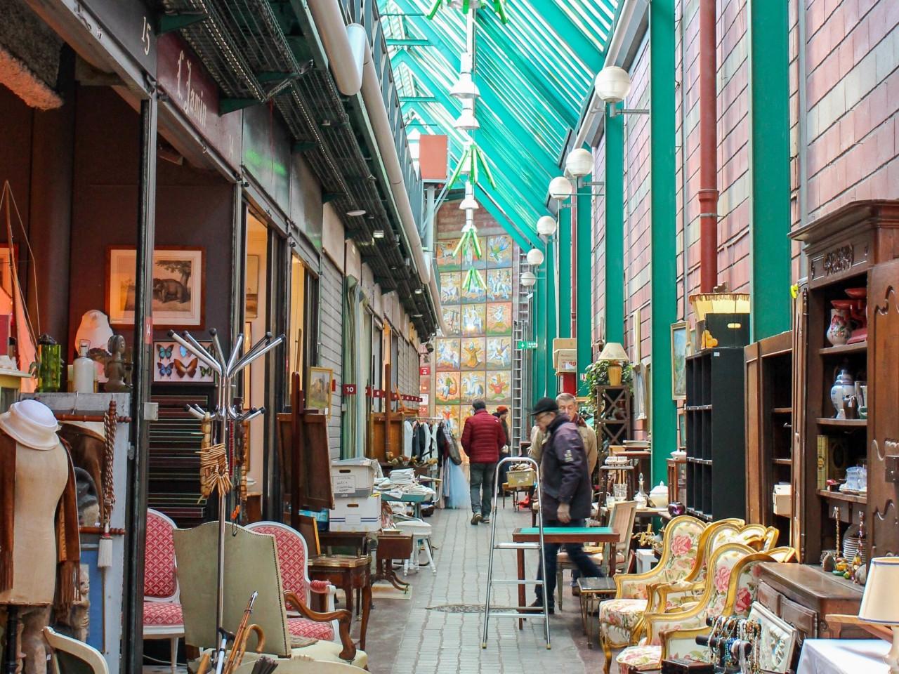 Mercatini di Parigi: Mercato delle pulci di Saint-Ouen