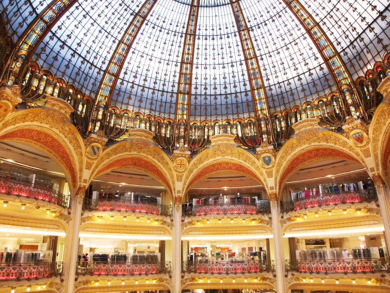 Foto Gallery Gallerie Lafayette Parigi