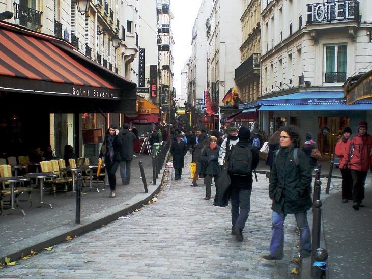 Rue de la Huchette a Parigi- Informazioni turistiche - Parigi.it