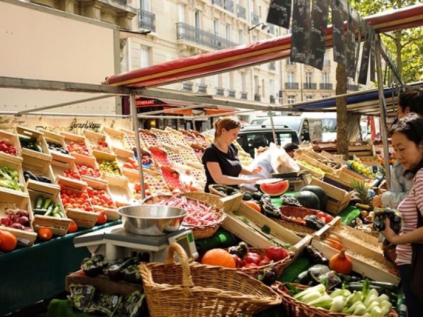 Mercatini di Parigi: Mercato biologico di Raspail