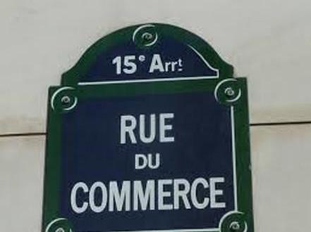 Visita il XV arrondissement  di Parigi - Rue de commerce - La Motte Piquet Grenelle