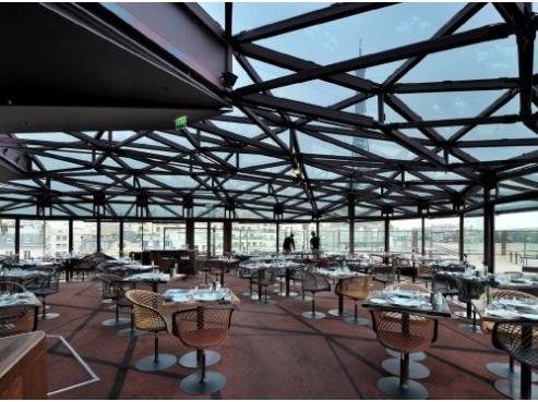 Ristorante Les Ombres di Parigi sulla terrazza del Quai Branly - Dove mangiare a Parigi