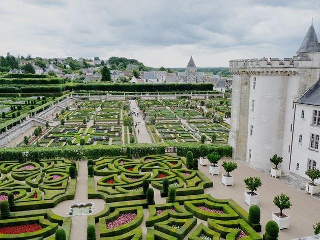 Photo Gallery Castello e Giardini di Villandry Valle della Loira