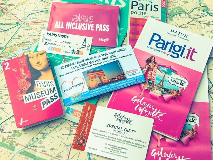 Paris All Inclusive Pass -  Trasporti e Musei: 2,3,4,5 e 6 giorni