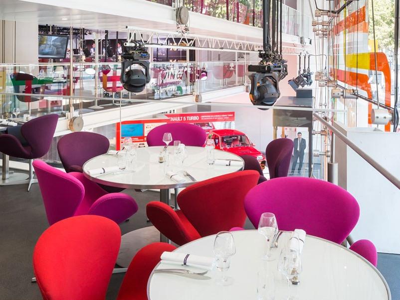 Ristoranti consigliati a Parigi - L'Atelier Renault di Parigi nel cuore degli Champs Elysées - Info e prenotazioni