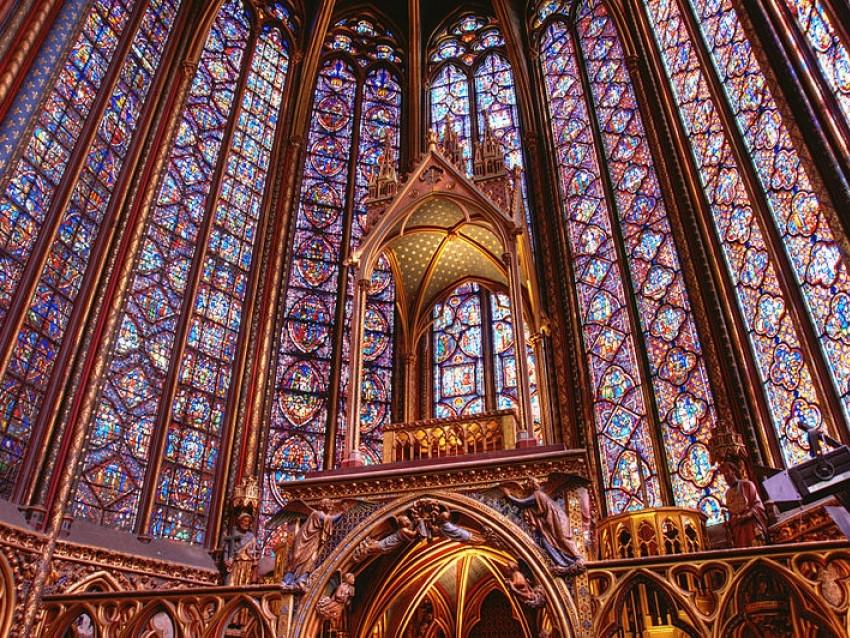 Concerto di musica classica alla Sainte-Chapelle di Parigi