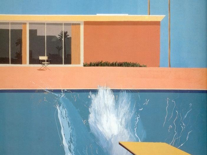 Mostra David Hockney al Centre Pompidou di Parigi fino al 23 ottobre