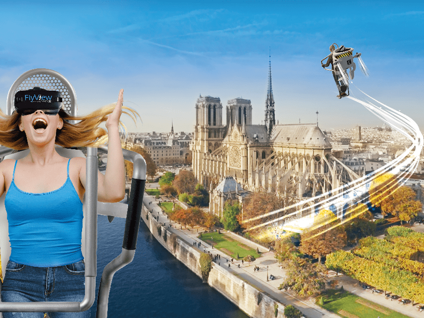 Fly View Paris: un'incredibile esperienza di volo virtuale su Parigi