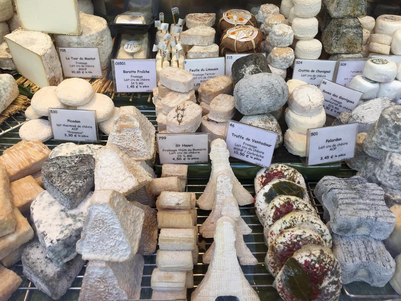Le cinque migliori fromageries di Parigi da visitare assolutamente
