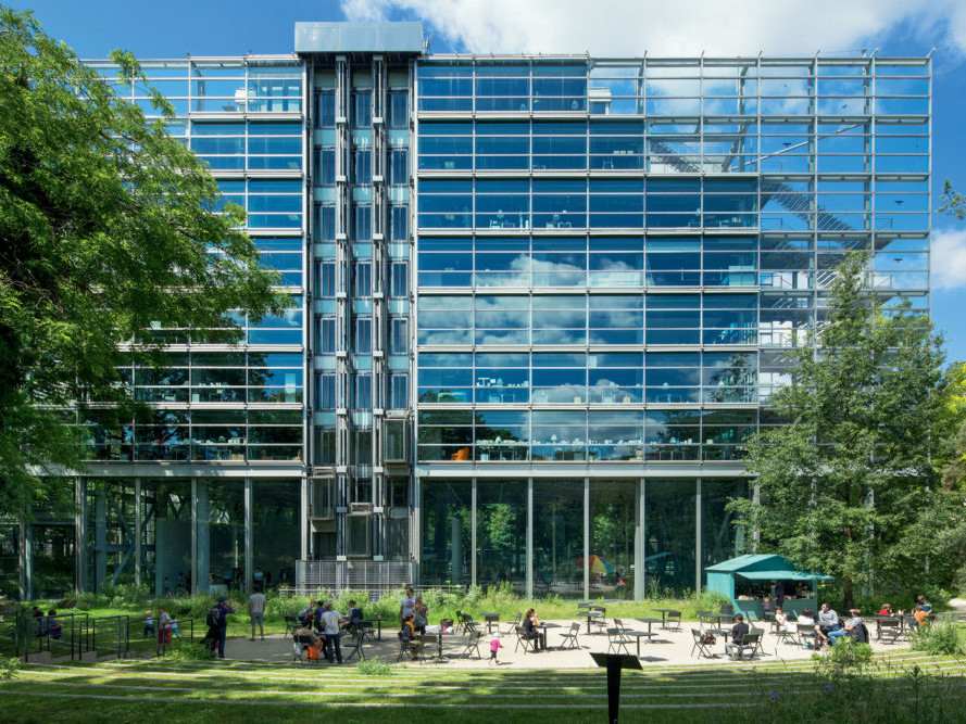 Fondazione Cartier Parigi per l'arte contemporanea: spazio espositivo