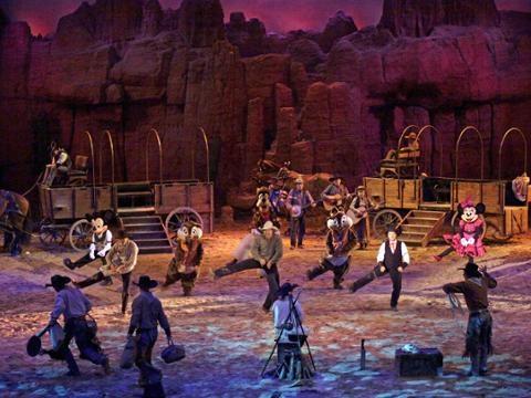 Disneyland Paris: Buffalo Bill's Wild West Show