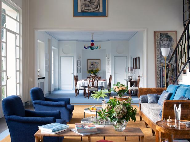 La villa L'Ange Volant dell'architetto Gio Ponti