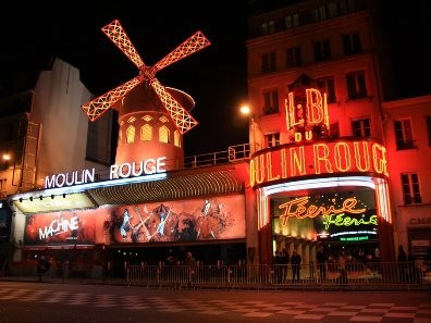 Il Moulin Rouge di Parigi, info e prenotazioni | Cabaret di Parigi