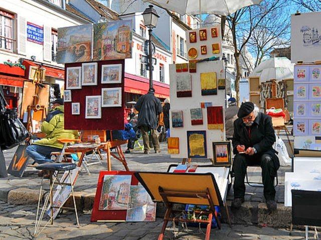 Place du Tertre a Parigi - Informazioni Turistiche e Pratiche
