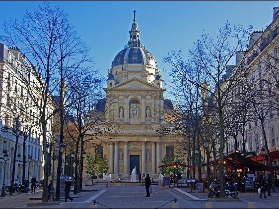 La Sorbona di Parigi, una delle più prestigiose università del mondo