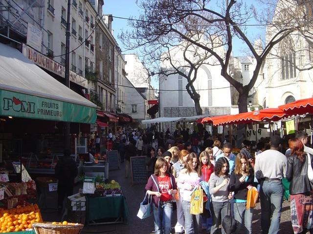Rue Mouffetard a Parigi
