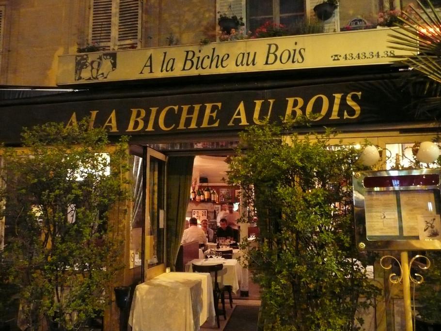 A la Biche au Bois Paris - A la Biche au Bois Parigi - Dove mangiare a Parigi