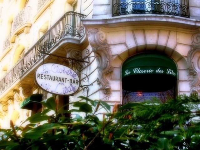 Brasserie Closerie des lilas Paris - Dove mangiare a Parigi