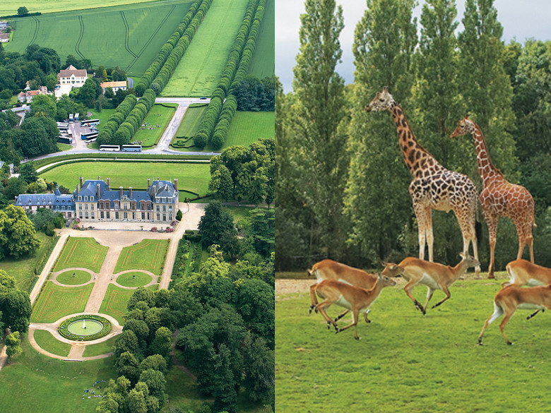 Chateau de Thoiry - vicino Parigi - Castello di Thoiry