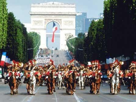Festa nazionale del 14 luglio a Parigi