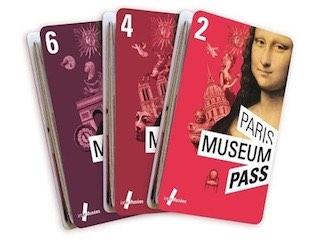 Le tre tipologie disponibili dei Paris Museum Pass